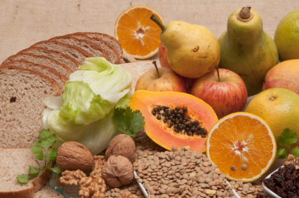 Our high fiber foods list for a high fiber diet is vitally important ...