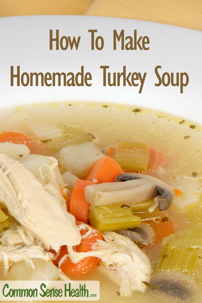 Once you start making this delicious, nutritious leftover turkey soup, your family will look forward to it after every big turkey dinner.