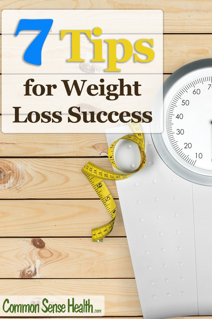 Here are 7 great tips to help you become another weight loss success story! #weightloss #weightlosssuccess